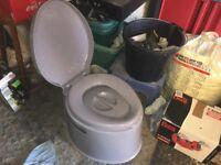 Kampa camping toilet