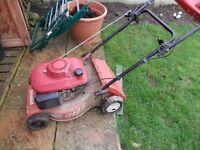 lawn mower runing order