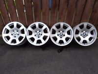 "BMW 5 Series 03-10 Alloys 16""x7J 5x120pcd E34 E36 E46 E60 E61 E90 1 3 5 7 SERIES"