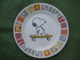 Snoopy on Skateboard Porcelain Plate for £10.00