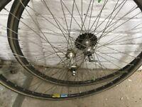 Mavic wheel set
