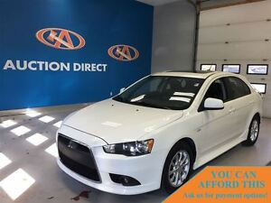 2012 Mitsubishi LANCER SPORTBACK GT, LEATHER, SUNROOF, HETED SEA