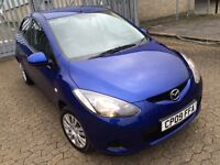 Mazda 2 Ts, 2009 hatchback, 5 doors, 1.3 engine, cheap insurance/road tax, HPI clear, ac or air con.