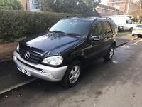 2003 03reg Mercedes ML270 CDI Automatic Full Leather Very Good Condition