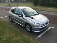 Peugeot 206 full service low millig hpi clear