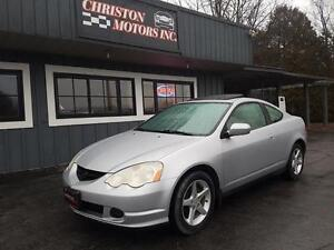 2002 Acura RSX LEATHER! LOADED! CERTIFIED ETESTED  $2499+taxes