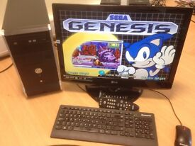 Cheap computer with HDTV (Freeview, Remote, 3 x HDMi, USB etc) Display with Hyperspin Retro Games
