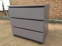 Large Purple Chest Of Draws - Silent Runner Draws - Good Quality - Reduced