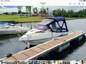 Galia Galeon 485 motorboat with cuddy. Excellent condition.