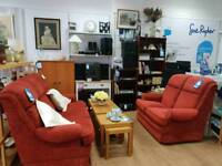 Pair of matching Parker Knolls sofas 2 seater and 3 seater in excellent condition