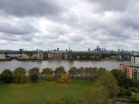 2 Spacious Doubles in Canary Wharf, AMAZING VIEWS! Isle of Dogs, SOUTH QUAY, DOCKLANDS E14