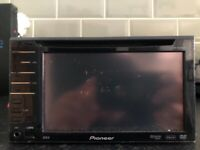 pioneer double din,pioneer,cd player,dvd player,double din,
