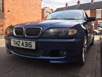 BMW E46 3.0 Facelift 330D Diesel M Sport Topaz Blue Automatic