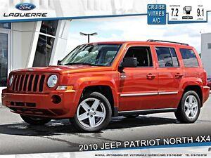 2010 Jeep Patriot **NORTH*4X4*AUTOMATIQUE*CRUISE*A/C**