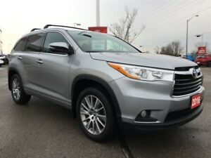 2016 Toyota Highlander XLE V6 AWD - OFF-LEASE/ONE OWNER/NO ACCID