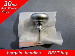 1x30mm-Mushroom-Knob-bathroom-cabinet-cupboard-door-drawer-pullers