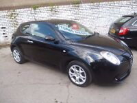 Alfa Romeo MITO JTDM Sprint,3 door hatchback,sporty looking car,only 50,000 miles,free Road Tax