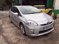 2010 TOYOTA PRIUS T SPIRIT 1.8 VVT-I CVT, IDEAL FOR PCO TAXI £500 DEPOSIT £250 X 48 MONTHS