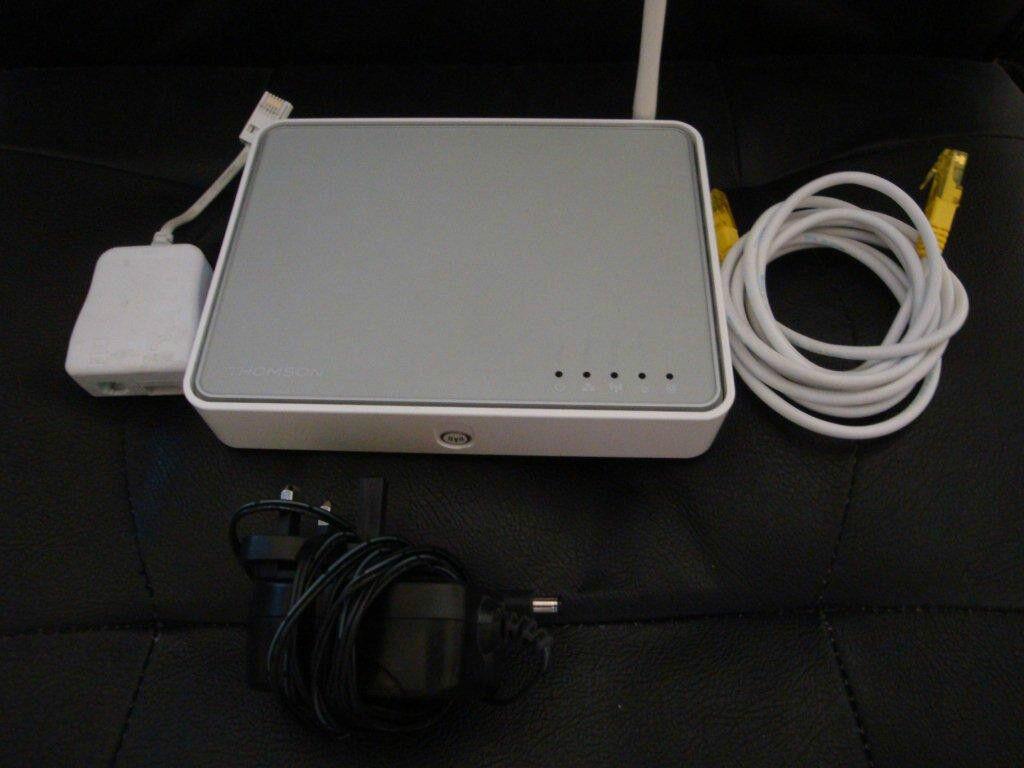 Thomson SpeedTouch TG585 v7 Wireless-G ADSL 2+ Router
