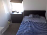 Double furnished bedroom (not for couples)