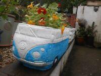 Garden Stone Planter Volkswagen Camper van 51 cm x 23 cm
