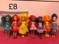 Barbie Rainbow Dolls
