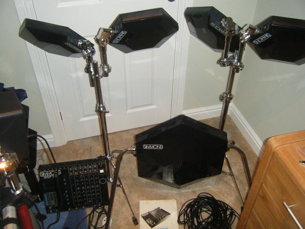 simmons drums sds9 drum kit fully working good condition in harpenden hertfordshire gumtree. Black Bedroom Furniture Sets. Home Design Ideas