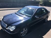 TRADE In To CLEAR-MERCEDES C320 AUTO ELEGANCE TOP SPEC SAT NAV LEATHER PARKING AID XENON