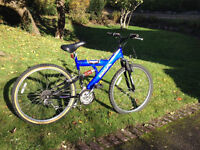 BSA Freefall, full suspension bike - great condition