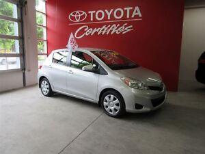 2012 Toyota Yaris LE/GR.ÉLEC./AIR CLIM./49786 KILOS.!!