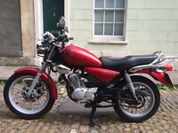 Yamaha YBR (Custom) 125cc Learner Legal Motorcycle