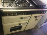Leisure Rangemaster gas cooker 90cm..Mint