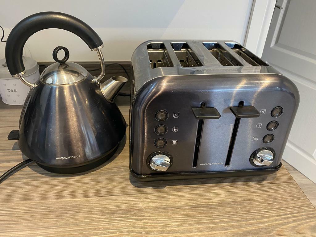 Morphy Richards Black Toaster and Kettle | in Renfrew, Renfrewshire | Gumtree