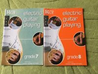 RGT electric guitar playing books London college of music