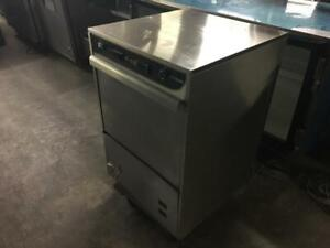 24 inch Fagor Glasswasher Model AD—48W High Temp like new only $1595