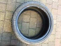 2 x part worn 255 35 18 Hankook Winter Tyres 5mm minimum