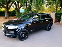 Audi Q7, OUTSTANDING SPEC, SAT NAV, TV, FSH, 7 SEATS