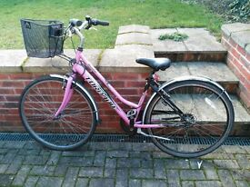 Pink bike for sale