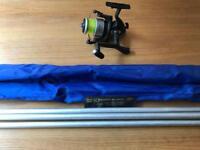 Beach caster fishing rod