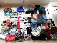 Large bundle of women's clothes size 6/8