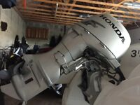 Brig Eagle 380 luxury RIB boat in immaculate condition with Honda BF 50hp outboard hardly used.