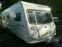 2008 BAILEY SENATOR WYOMING TWIN AXLE BERTH TOURING CARAVAN
