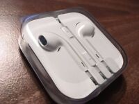 *GENUINE APPLE HEADPHONES - NEW/NEVER OPENED FROM IPHONE 5 SE*