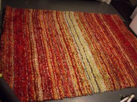 Large Rug For Multi Colour 160 X 220 Cm