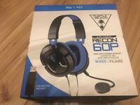 Turtle Beach Recon 60P Amplified Stereo Gaming Headset - PS4, PS4 Pro Xbox One S and Xbox One