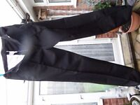 "3 pairs New Mens work trousers 36"" waist"