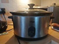Breville slow cooker, big volume, three modes, good condition, for sale