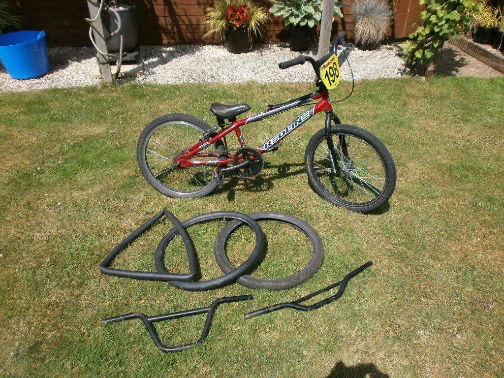 BXM Redline Bicycle 20 Inch Wheels