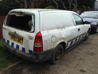 Vauxhall Astra van Breaking spears or repairs