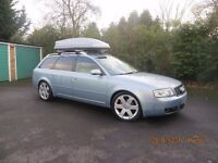 Audi A61.9tdi,leather,7 seats,two geniune extra seats in both fit by audi factory.